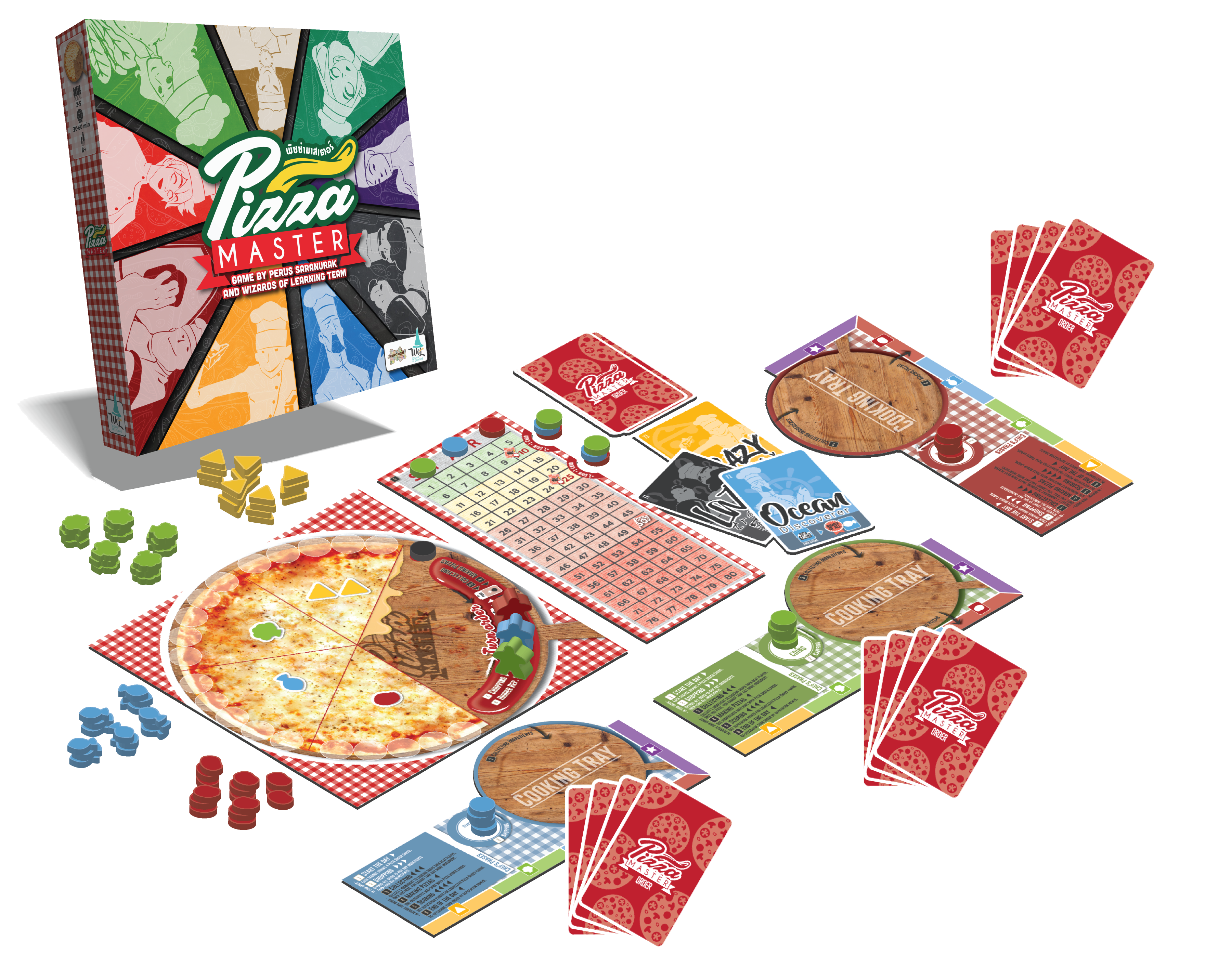 Image result for pizza master board game